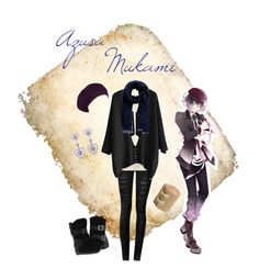 """Mukami Azusa Casual Cosplay (School), Diabolik Lovers (MORE, BLOOD)"" by psychometorzi ❤ liked on Polyvore featuring MIA, Jane Norman, Dolce Giavonna and Forever New"