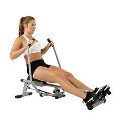 Discounted Sunny Health & Fitness SF-RW5639 Full Motion Rowing Machine Rower w/ 350 lb Weight Capacity and LCD Monitor #SunnyHealth&FitnessSF-RW5639FullMotionRowingMachineRowerw/350lbWeightCapacityandLCDMonitor Personal Fitness, You Fitness, Fitness Goals, Health Fitness, Rowing Machines, Workout Machines, Cardio Training, Strength Training, Cardio Equipment