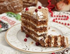 Honey Cake, Russian Recipes, Tiramisu, Bakery, Ethnic Recipes, Easy, Desserts, Food, Deserts