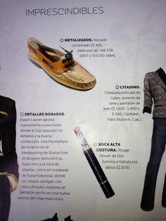 NAUTICOS KARL #DELACUCA Revista Para Ti 27 de abril 2012 Jean 1, Ralph Lauren, Salvatore Ferragamo, Flats, Shoes, Fashion, Jackets, Printing Press, Loafers & Slip Ons