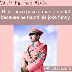 Hitler facts - wtf fun | http://funnyphotoscollections.blogspot.com