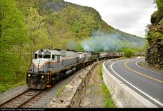 RailPictures.Net Photo: DL 3643 Delaware Lackawanna MLW M630 at Delaware Water Gap, Pennsylvania by Baxter Barnes