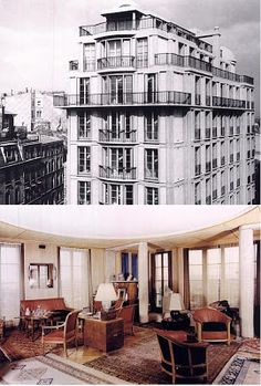 The homes of Auguste Perret: Rue Raynouard ~ Invisible Paris