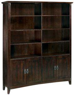 Artisan Double Bookcase - Open Bookcases - Bookcases - Furniture | HomeDecorators.com $449.00