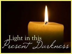 Light In This Present Darkness. An Apostolic Pentecostal Blog!