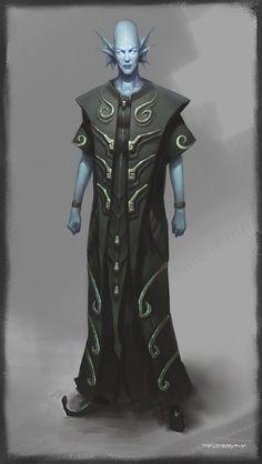 Alien by bluerainCZ on DeviantArt