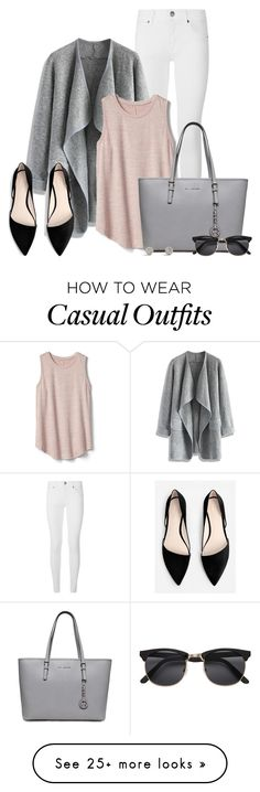 """Business Casual"" by kingsamuel on Polyvore featuring Burberry, Chicwish, Gap, H&M and MANGO"