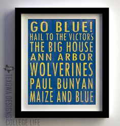 Hail To The Victors #goblue