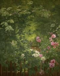 rose garden impressionist painting - Google Search