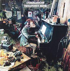 "Thelonious Monk: Underground Label: Columbia CS 9632 12"" LP 1968  Design: John Berg Photo: Steve Horn / Norman Griner"