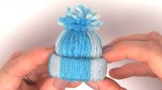 Yarn Hat Holiday Ornaments: Free Video Tutorial with Studio Knit