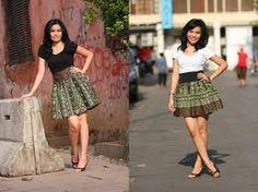 modern batik skrit
