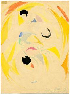 Joseph Stella   Untitled, 1915   Gallery 1900-2000. Paris, France.