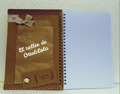 Libreta/ notebook #scrapbooking