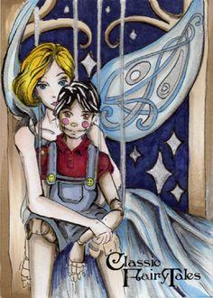 Pinocchio - Alexis Sarah Hill by Pernastudios