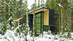 Form and Forest Completes First Flat Pack Prefab Cabin in British Columbia | Inhabitat - Green Design, Innovation, Architecture, Green Building