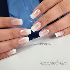Subtle Pink Ombre Nails for 50 Trendy Nail Art Designs to Make You Shine-The beauty of the nail arts is showcased in this article. We have presented some of the most exciting different nail designs. Nails Yellow, Pink Ombre Nails, Gradient Nails, Business Nails, Business Casual, Casual Nails, Uñas Fashion, Nagellack Trends, Different Nail Designs