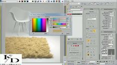 3ds max  modifier and texture