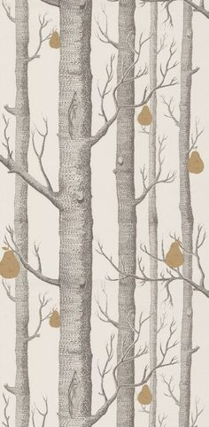 Papier peint Woods and Pears - Cole and Son