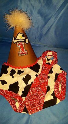 1st Birthday Cowboy Cake Smash