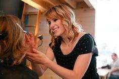 Photo of my wonderful make up artist, Rebecca Taff. Portraits To The People Blog |