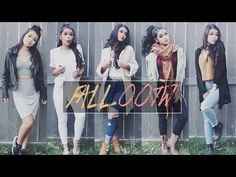 LOOKBOOK | Outfits For Fall 2015 - YouTube