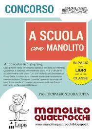 """PARTECIPA CON LA TUA CLASSE AL CONCORSO """"A SCUOLA CON MANOLITO"""" http://isa-voi.blogspot.it/2015/02/partecipa-con-la-tua-classe-al-concorso.html"""