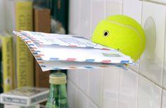 Useful tennis balls