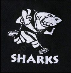 Durban's rugby team logo - The Sharks!
