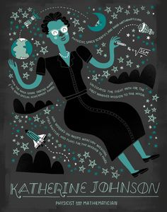 rachelignotofsky:   Katherine Johnson is a... - Science Friday on Tumblr