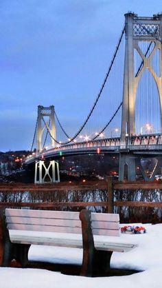 Mid-Hudson Bridge,  New York, USA https://innbativel.com.br/oferta/new-york-e-orlando-500