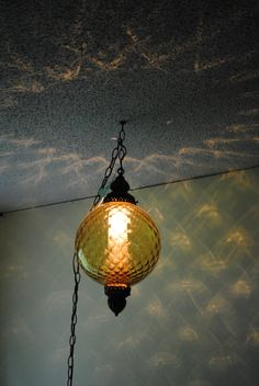 Kara found this lamp in an antique store and we bought it as a gift for her.  Now she is giving it back to use as the Sun/Moon in Narnia (the grandkids' dorm part).  I LOVE its reflections!