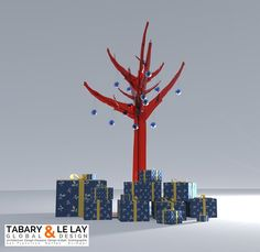 L'arbre invisible, Tabary et Le Lay Global Design