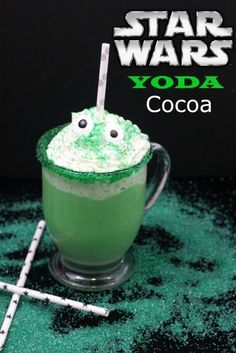 Star Wars Drink Recipe Yoda Cocoa