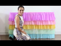 Como fazer uma toalha em degradê de papel crepom - YouTube Unicorn Birthday Parties, Unicorn Party, Birthday Party Themes, 2nd Birthday, Girl Birthday Decorations, Princess Party, Party Time, Balloons, Baby Shower