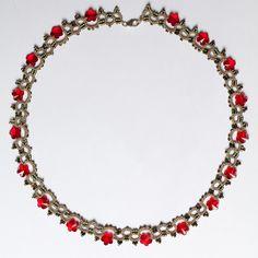 Frivolité à la navette: Mon nouveau collier Necklace #tatting #jewelry