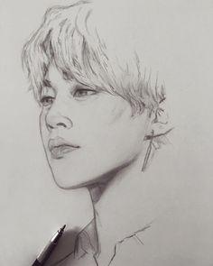 Jimin | Fanart | BTS | Fanart | BTS Zeichnungen K Pop