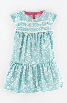 Mini Boden Floral Print Tea Dress (Toddler Girls, Little Girls & Big Girls) at Nordstrom.com.