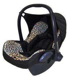 Child Leopard Design Baby Full Seat Cover Set