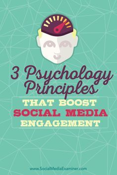 Are your social media posts getting enough engagement? Social media engagement is largely determined by how well your social posts trigger action from your target audience. In this article by @blogger32. youll discover how to boost social media engagement by incorporating psychological triggers in your posts. Via @smexaminer #smt