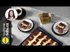Jemný jogurtový koláč - Markéta Krajčovičová - RECEPTY KUCHYNE LIDLU - YouTube Lidl, Kefir, Food Videos, Waffles, Low Carb, Baking, Breakfast, Sweet, Recipes