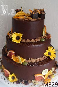 Čokoladna torta za svadbu