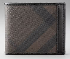 Christmas Gifts for HIM 2012 | Burberry men's wallet [ HGNJShoppingMall.com ] #accessories