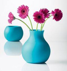 Hancock Large Rubber Vase TURQUOISE #Apt2BLabor