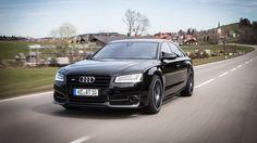 Заряженный седан Audi S8 plus получил больше мощности