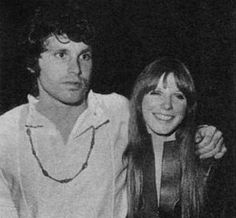 Pam Courson and Jim Morrison {September 1968 Europe}