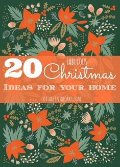 Come check out 20 great DIY Christmas projects to get your home ready for the festivities with you and your family!