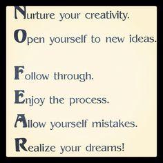 """no fear"" best way to define it"