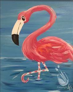 KIDS CLASS - Ages 7 & Up - Fancy Feet Flamingo   8/12/2016 - Avon, OH
