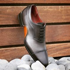 Take a look at this exclusive style #ElcheGrey www.magnanni.com/shop/elche-grey #DressShoes #MensShoes